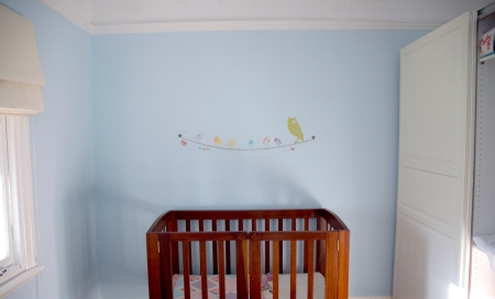 girls blue nursery