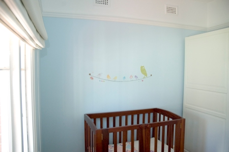 Blue Girl Nursery