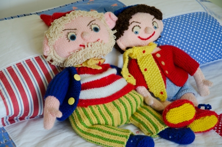Noddy and Big Ears, look pretty cute cuddled up on it too!