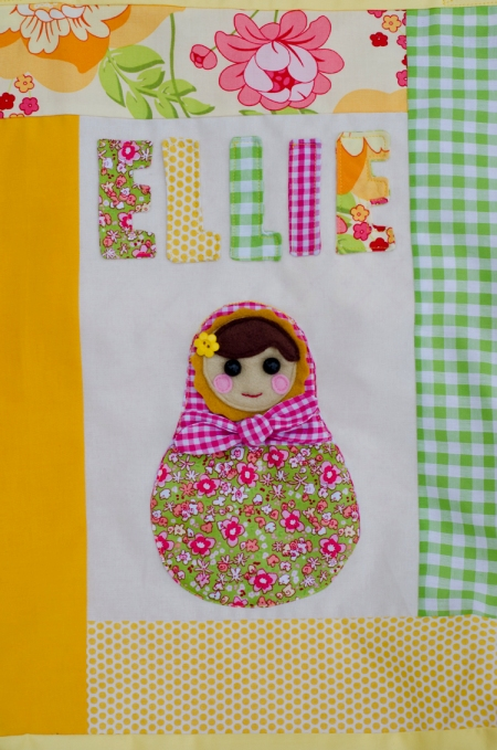 Babushka Doll for the Center Panel